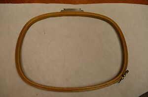 Melco Emc 16 X 12 Dh Rect Wood Industrial Embroidery Machine Hoop