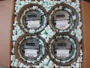 Landis gyr Electric Watthour Kwh Meter Easy Read 240v 200a Home rv Lot Of 4