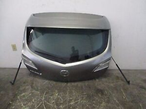 Mazda Speed 3 2010 2011 2012 Hatch Trunk Lid Glass Oem Spoiler Wing Ms3 Turbo