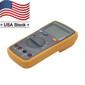 Digital Multimeter Meter Fluke 15b F15b Auto Range Ac Dc Voltage Current In Us