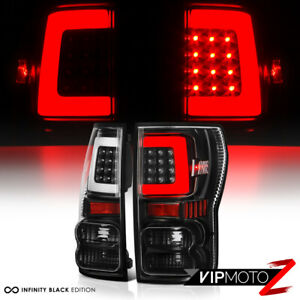 For 07 13 Toyota Tundra newest Neon Tube Black Led Rear Brake Tail Lights Lamp