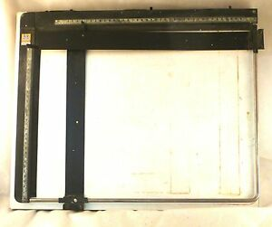 Pzo Technical Drawing Table Engineer s Drawing Board Vintage 30x40