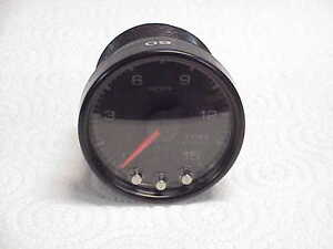 Used Black 2 1 16 0 15 Psi Fuel Pressure Gauge Pro Parts Spek Jh16 Nascar
