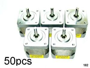 50 Nema 17 Japan Servo Stepper Motors 51 2oz in Mill Robot Reprap Makerbot Prusa