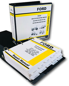 Ford 230a 231 335 Industrial Tractor Service Repair Manual Technical Shop Book