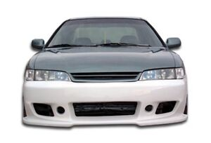 94 97 Honda Accord 4 Cyl Duraflex B 2 Front Bumper 1pc Body Kit 101456