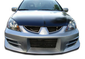 04 07 Mitsubishi Lancer Duraflex Walker Front Bumper 1pc Body Kit 100575