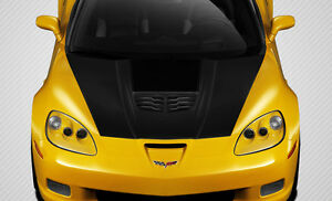 2005 2013 Chevrolet Corvette C6 Carbon Fiber Stingray Z Hood 1 Pc 109917