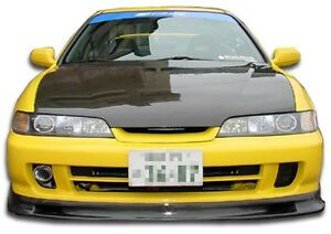 94 01 Jdm Integra Carbon Fiber Spoon Style Front Lip 1pc Body Kit 102744