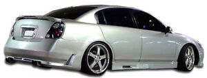 02 06 Fits Nissan Altima Duraflex Cyber Rear Bumper 1pc Body Kit 104899