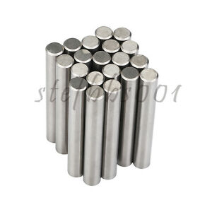 20pcs D8 60l K20 k30 Tungsten Carbide Round Cemented Rod For Boring Tool Drills