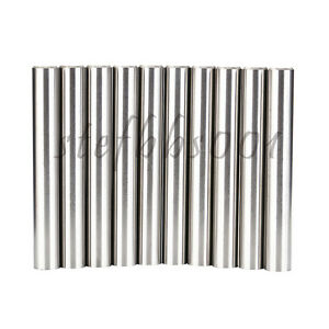 10pc D10 Tungsten Cemented Carbide Rod Round Chamfer 1 End For Boring For Drills
