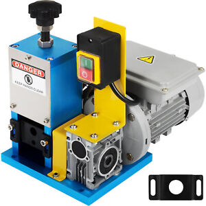 Electric Wire Stripping Machine Portable Powered Comercial 1 4hp Cable Stripper