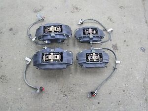 2010 2015 Camaro Ss Oem Brembo Front Rear Calipers W Hardware Pads 6d5