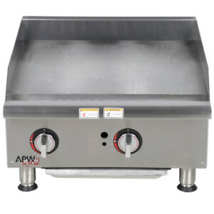 Apw Wyott Ggm 24i Champion 24 Countertop Natural Gas Griddle Manual