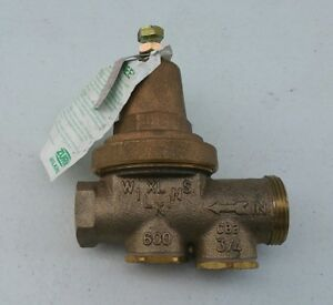 Zurn Model 600xl 3 4 Water Pressure Regulating Reducing Valve Xl Wilkins Cb3