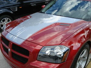 2005 2007 Dodge Magnum Chr Style Hood 1pc Body Kit Ram Air Functional