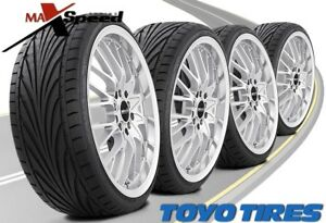 qty Of 4 Toyo Proxes T1r 195 45r15 78v Uhp Ultra High Performance Tires