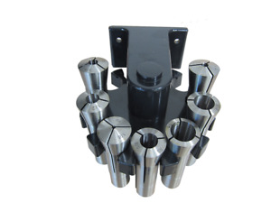 R8 Collet Set 7 Pieces With A Rotary Rack