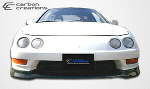 98 01 Acura Integra Carbon Fiber Type R Front Lip 1pc Body Kit 102746