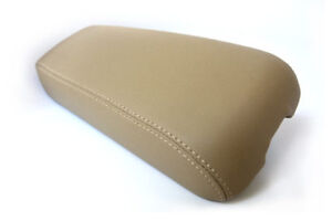 Center Console Armrest Real Leather Cover For Cadillac El Dorado 96 02 Beige