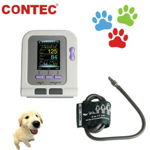 Vet Veterinary Blood Pressure Monitor Digital Nibp Machine Cuff Dog cat Contec