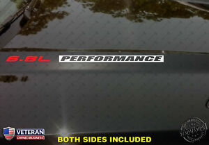 6 8l Performance Hood Vinyl Decals Stickers Fits Ford F250 Superduty V10 Inv