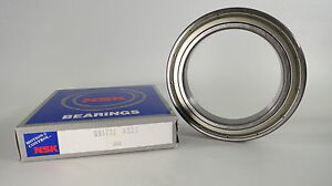Nsk Single Row Deep Groove Ball Bearing 6917zz