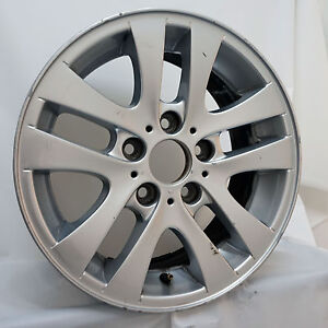 16 Bmw 3 Series Style 156 Silver Oem Wheel Rim 59580 7 36116775595