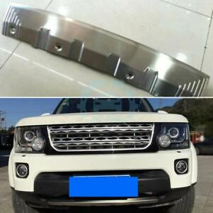 Front Bumper Lower Guard Trims Chromed For Land Rover Discovery 4 2014 2016