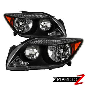 factory Style 2005 2007 Scion Tc Rs Chrome Headlight Lamp Replacement Pair L r