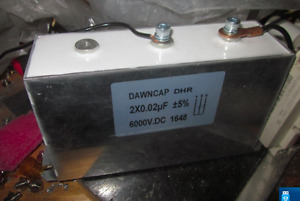 Qcwdrsstc Dedicated Tesla Coil Dedicated Resonant Capacitor 2 0 022uf 6000v