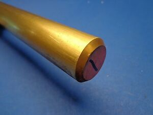 2 Diameter X 12 long 360 Brass Round Bar 2 360 Brass Rod Lathe Stock