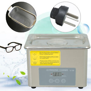 0 8l Industrial Ultrasonic Cleaner Jewelry Dental Cleaning Machine Usa
