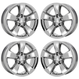 17 Dodge Charger Challenger Pvd Chrome Wheels Rims Factory Oem Set 4 2405