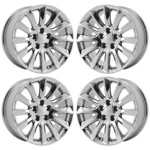 17 Chrysler 300 Rwd Pvd Chrome Wheels Rims Factory Oem Set 2417