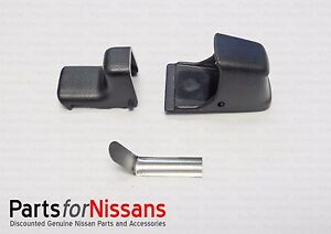 Genuine Nissan 2004 2015 Titan Rear Window Latch Kit 79714 Zh00a New Oem