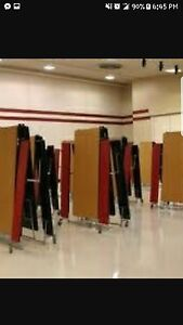 School Or Resterant Cafeteria Foldable Tables