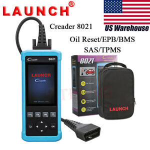 Launch Creader 8021 Code Reader Obdii Eobd Scanner Diagnostic Scan Tool Abs Srs