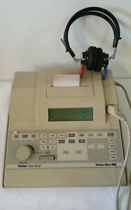 Welch Allyn Tm262 Auto Tymp Tympanometer Audiometer With Accessories