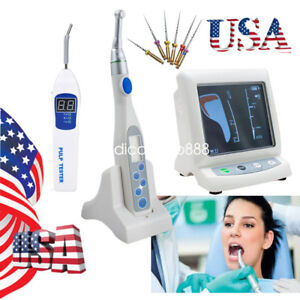 Us Dental Mini Endo Motor Handpiece Color Apex Locator Root Canal pulp Tester