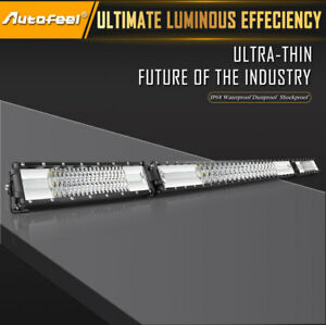 52inch 2088w Osram Straight Led Light Bar Spot Flood Offroad Driving Light 51