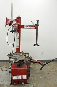Coats 7060ex Tabletop Rim Clamp Pneumatic Tire Changer 110v 6 24 Wheel