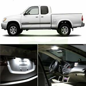 12pcs Super 6000k White Interior Led Lights Package For 2000 2006 Toyota Tundra