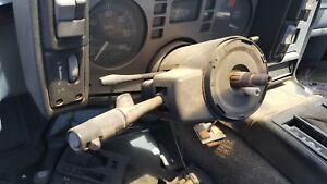 87 Fiero Used No Key Stick Tilt Cruise Steering Column