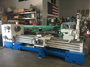 Summit 26 X 120 Gap Bed Engine Lathe 4 1 Thru Hole
