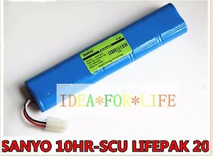 For Lifepak 20 Defibrillator 10hr scu 3200407 001 12v 3000mah Battery t2496 Ys
