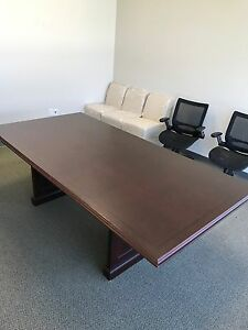 Modern Conference Table id 3198585 Brown In Color