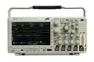 Tektronix Mdo3024 New 200 Mhz 4 Channel Mixed Domain Oscilloscope