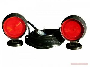 Heavy Duty Magnetic Tow Lights 40